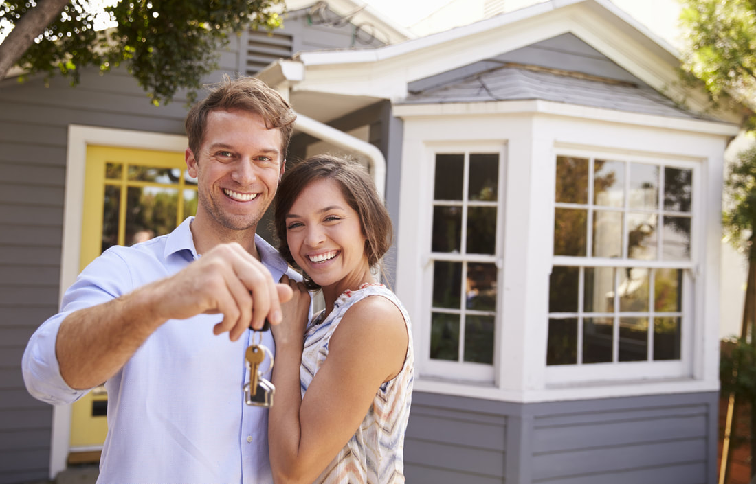 couple that just bought a house